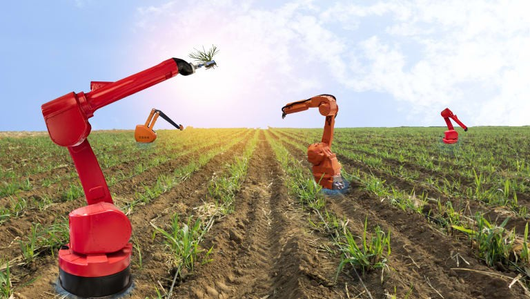 Robots are transforming the agriculture and farming industry