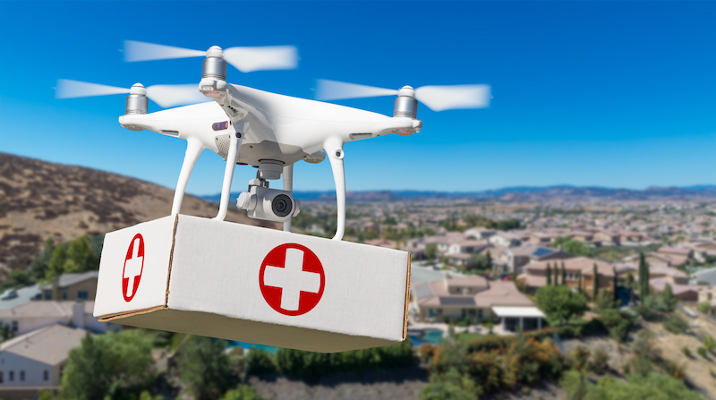 Medical Delivery Drones: Growing adoption and changing landscape of healthcare delivery