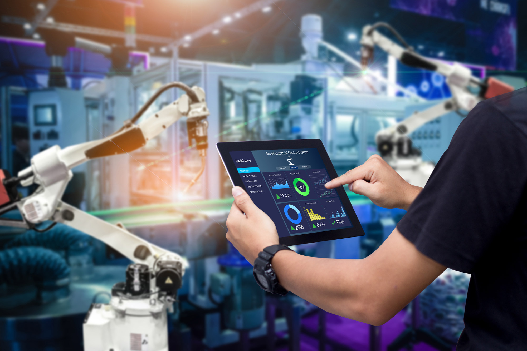IoT in Industrial Manufacturing: Its Impact and Use Cases